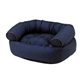 Bowsers Diamond Series Cotton Double Donut Dog Bed   Dog Beds