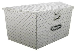 Buyers Trailer Tongue Aluminum Tool Box   Truck Tool Boxes