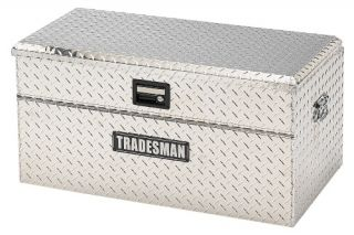 Tradesman Small Size Single Lid Flush Mount Truck Tool Box   Truck Tool Boxes