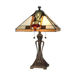 Dale Tiffany Natalie Mission Table Lamp   Tiffany Table Lamps