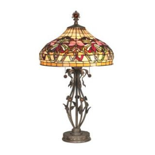 Dale Tiffany Floral Wave Tiffany Table Lamp   Tiffany Table Lamps