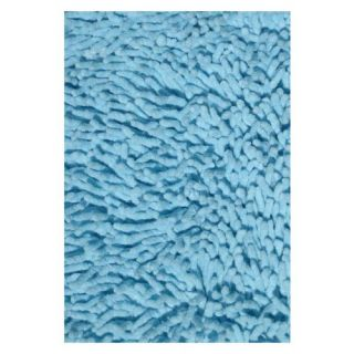 L.A. Rugs Light Blue Chenille Shag Rug   Kids Rugs