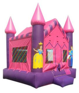 Kidwise Commercial Princess Castle Bounce House   Commercial Inflatables