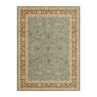 Loloi Stanley Floral ST 11 Area Rug   Brown / Blue   Area Rugs