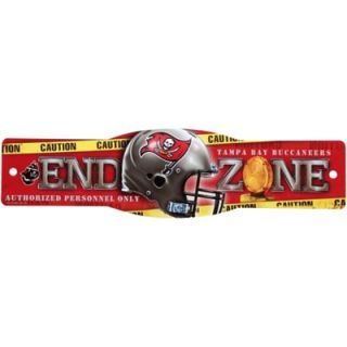 Tampa Bay Buccaneers 4.5 x 17 Street Zone Sign