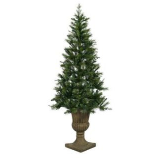 Vickerman Potted Oneco Half Christmas Tree   Christmas Trees
