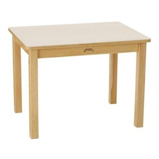 Jonti Craft Multi purpose Rectangle Table   Activity Tables