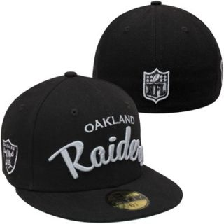 New Era Oakland Raiders City Arch 59FIFTY Fitted Hat   Black