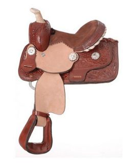 King Series Miniature Western Barrel Saddle   Western Saddles and Tack