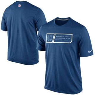 Nike Indianapolis Colts Legend Jock Tag Performance T Shirt   Royal Blue