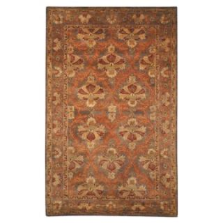 Safavieh Antiquities AT54B William Morris Oriental Rug   Sage   Area Rugs