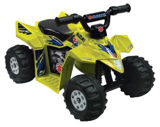Kid Motorz Suzuki ATV Quad Battery Powered Riding Toy   Yellow   Battery Powered Riding Toys