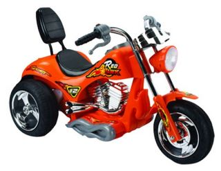Red Hawk Motorcycle Battery Powered Riding Toy   Orange   Battery Powered Riding Toys