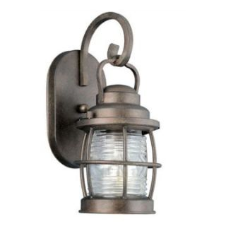 Kenroy Home Beacon Outdoor Wall Lantern   13H in. Gilded Copper   Outdoor Wall Lights