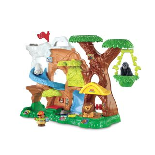Fisher Price Little People Zoo Talkers Animal Sounds Zoo   Toy Dollhouses