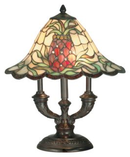 Dale Tiffany Isabella Art Glass Lamp   Tiffany Table Lamps