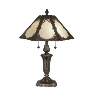 Dale Tiffany Pristine Panel Tiffany Table Lamp   Tiffany Table Lamps