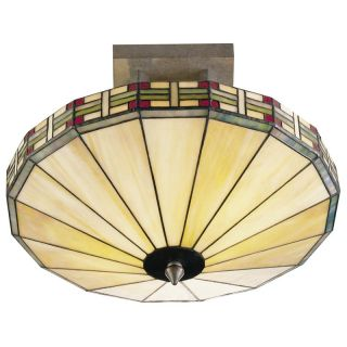 Dale Tiffany Mission Umbrella Fixture Pendant   Tiffany Ceiling Lighting
