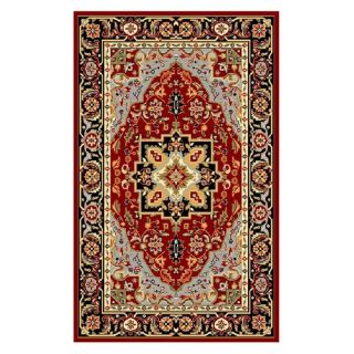 Safavieh Lyndhurst LNH330B Area Rug   Red/Black   Area Rugs