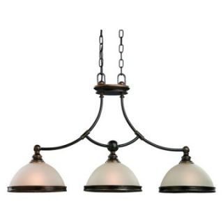Sea Gull Warwick Island Light   34.5L in. Vintage Bronze   Ceiling Lighting