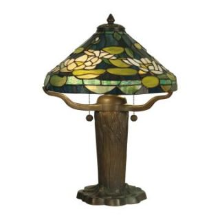Dale Tiffany Water Lily Tiffany Replica Table Lamp   14.75W in.   Tiffany Table Lamps