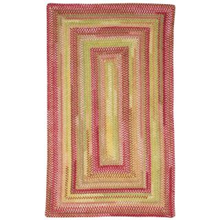 Capel Rugs Williamsburg Salem Chenille Braided Rug   Garden Rose   Braided Rugs