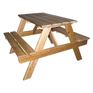 Ore International Kids Indoor/Outdoor Picnic Table   Kids Picnic Tables