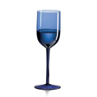Ravenscroft Amplifier Mineral Water Cobalt Blue Wine Glass   Set of 4   Wine Glasses