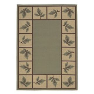 Surya Alfresco Woodland Indoor/Outdoor Area Rug   Sage   Area Rugs
