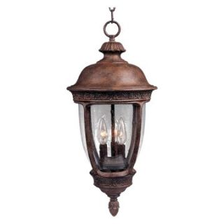Maxim Knob Hill DC Outdoor Hanging Lantern   26.5H in. Sienna   Outdoor Hanging Lights