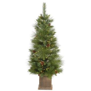 Vickerman Frosted Tip Berry Christmas Tree   Christmas Trees