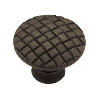 Liberty Hardware Contempo Basket Weave Cabinet Knob   Cabinet Knobs