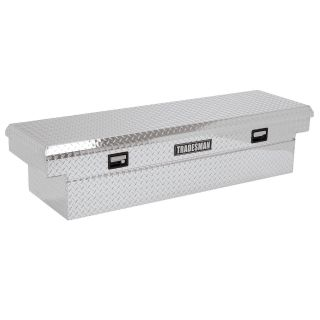Tradesman Aluminum Standard Wide Full Size Bed Truck Tool Box   Truck Tool Boxes