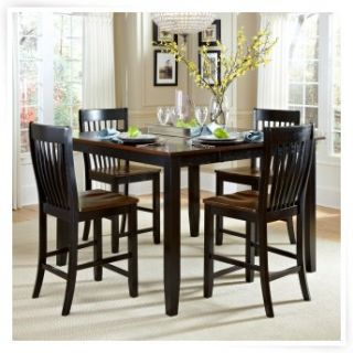 AHB Ellington 7 Piece Counter Height Dining Table Set   Dining Table Sets