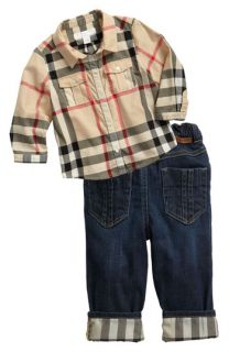 Burberry Shirt & Jeans (Infant)