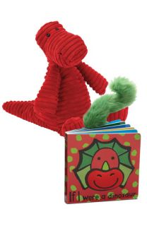 Jellycat Dinosaur Book & Stuffed Animal