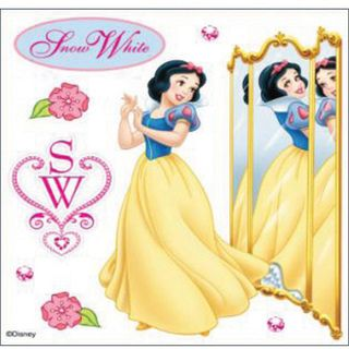 Disney Dimensional Snow White Sticker Sheet Stickers