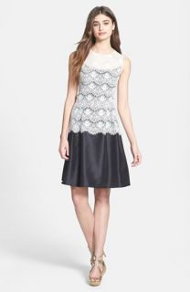 Lauren Ralph Lauren Lace Shift Dress (Regular & Petite)