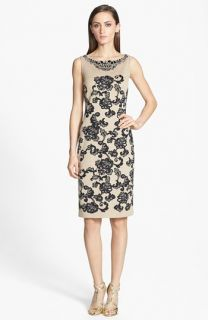 Erin by Erin Fetherston Eliane Jacquard Colorblock Sheath Dress