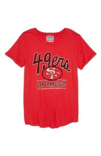 Junk Food NFL   San Francisco 49ers Tee (Big Girls)