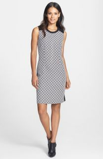 Calvin Klein Geo Check Sheath Dress