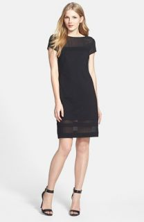 Vince Camuto Chiffon Overlay Tank Dress (Plus Size) (Online Only)