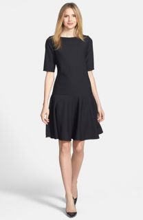 Isaac Mizrahi New York Drop Waist Knit Dress