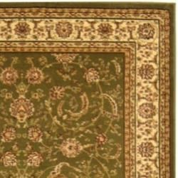 Modern Lyndhurst Collection Sage/Ivory Rug (4' x 6') Safavieh 3x5   4x6 Rugs