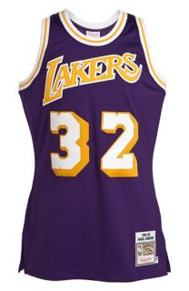 Mitchell & Ness Los Angeles Lakers 1984 1985   Magic Johnson Authentic Basketball Jersey