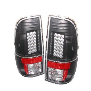 Ford F250/350/450/550 Super Duty 2008 2009 LED Tail Lights   Black Automotive