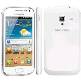 Samsung Galaxy Ace 2 i8160 White Factory Unlocked 4GB 5MP Droid Cell Phones & Accessories