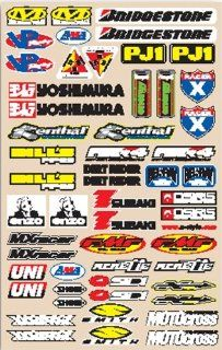 N Style Decal Sheets   Small Logo Sticker Kit V3 N30 189 Automotive
