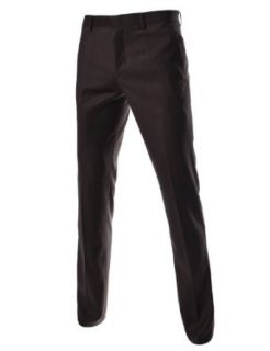 TheLees Men's Slim Fit Straight Dress Pants at  Men�s Clothing store