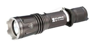 KLARUS XT11 Upgrade Versions Super bright CREE XM L2 LED Lamp 820 Lumens Waterproof LED Flashlight Powered By 2 x CR123A / 1 x 18650 Batteries Outdoor Tactical Flashlight / Torch(batteries are not included)   Basic Handheld Flashlights